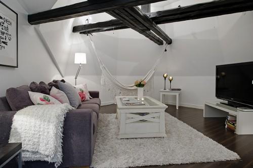 D co appartement comble for Modele deco appartement