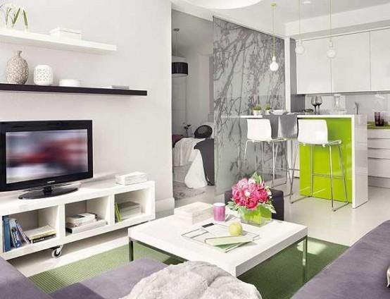 déco appartement en blanc
