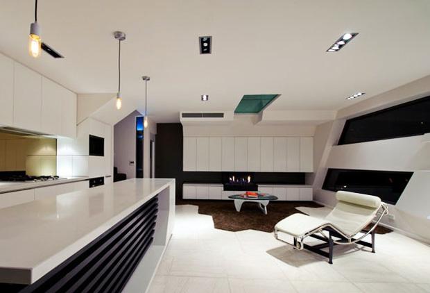 D 233 Co Appartement Futuriste