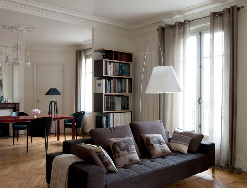 D co appartement haussmannien for Decoration interieur haussmannien