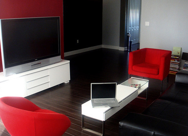 Appartement Blanc Rouge