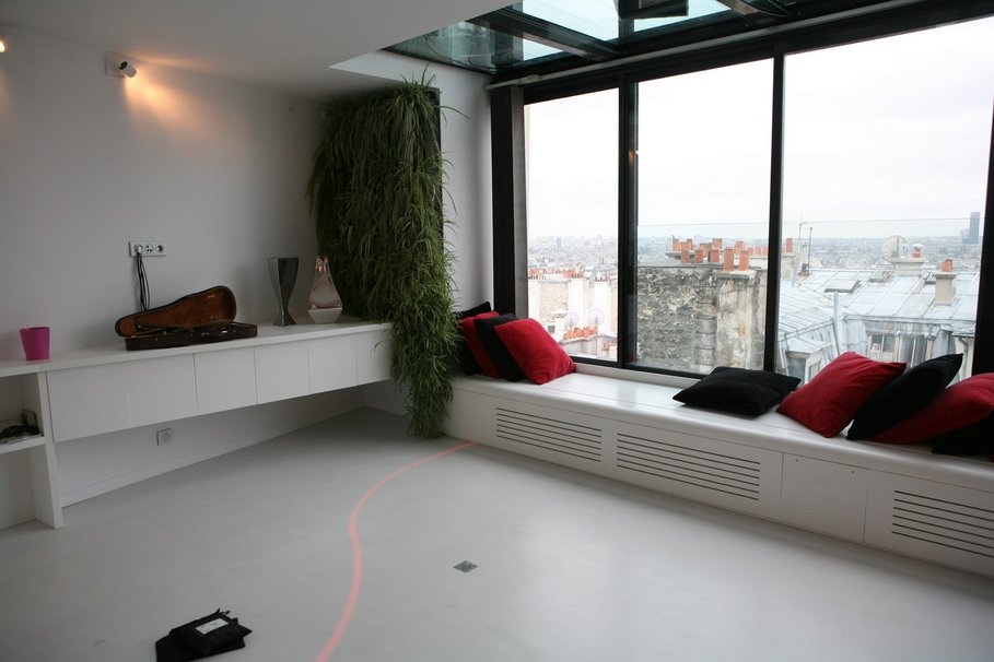 D Co Appartement Noir Blanc Rouge