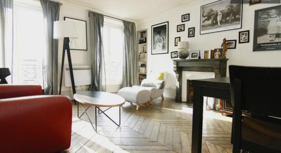 aménagement déco appartement parisien