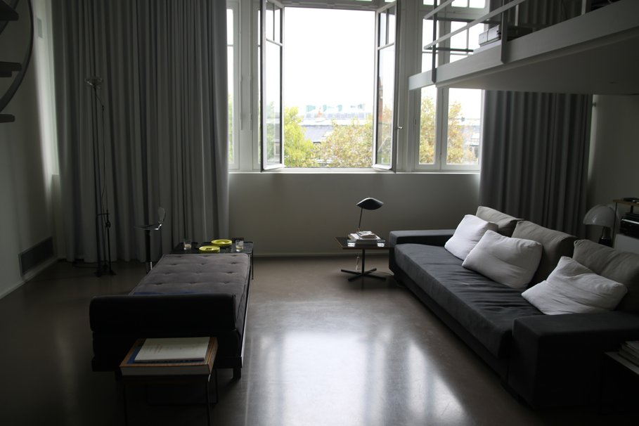 D co appartement rideau for Decoration petit appartement moderne