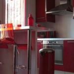 déco appartement rouge
