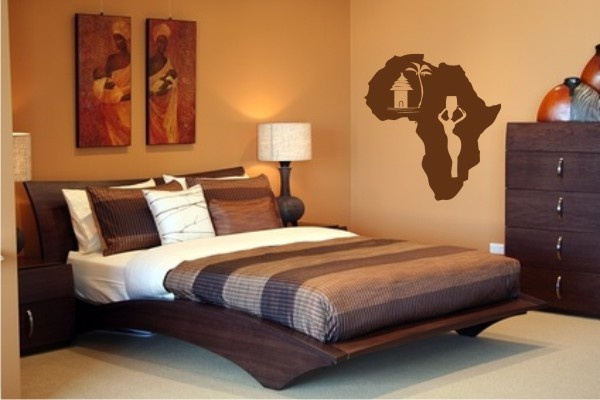 idée déco appartement style africain