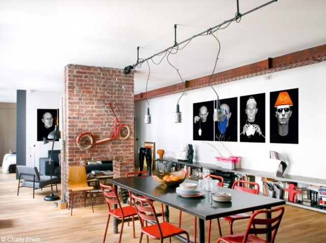Awesome Chambre Loft New Yorkais Photos - ansomone.us - ansomone.us