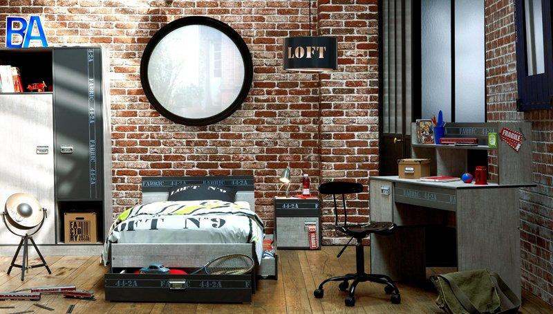 Chambre Loft Ado Ideas - Design Trends 2017 - shopmakers.us