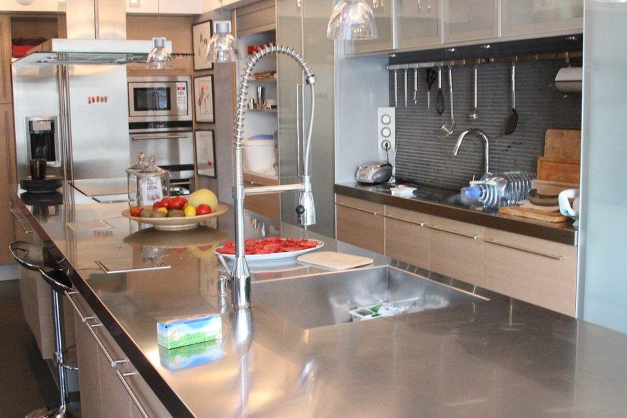 Meuble cuisine inox meubles de rangement inox meubles de cuisine