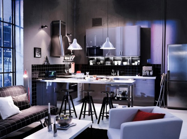 Organisation d co cuisine urbaine for Decoration cuisine urbaine