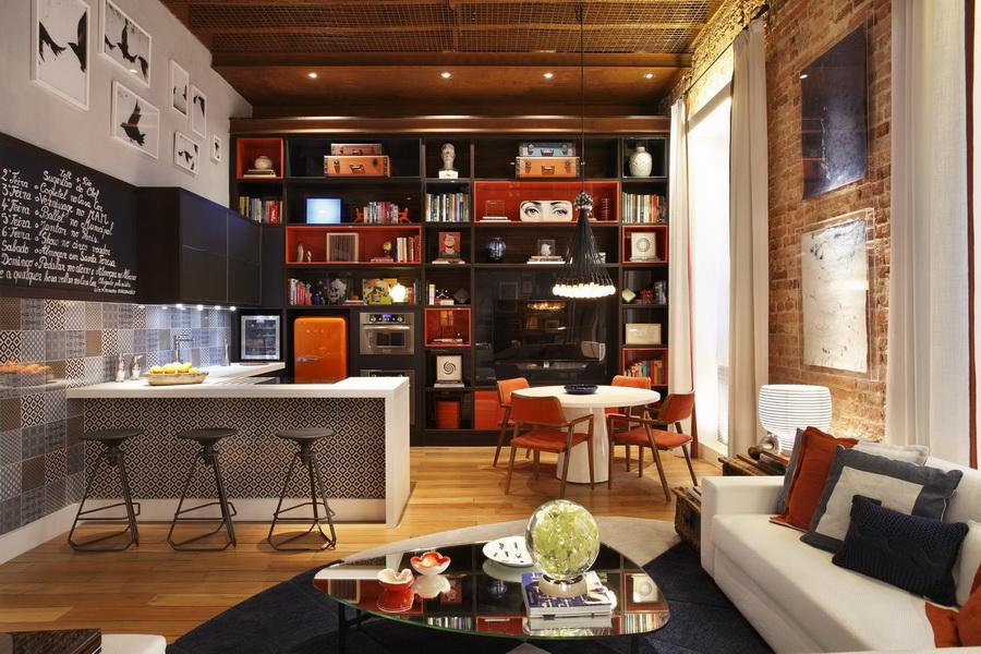 Effet loft pour un 45 m2 avec verrière  SPECIAL MODESPECIAL MODE