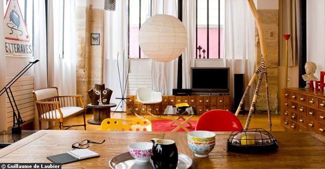 d co loft artiste. Black Bedroom Furniture Sets. Home Design Ideas