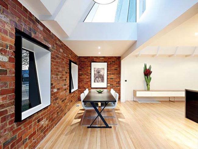 d co loft brique rouge. Black Bedroom Furniture Sets. Home Design Ideas