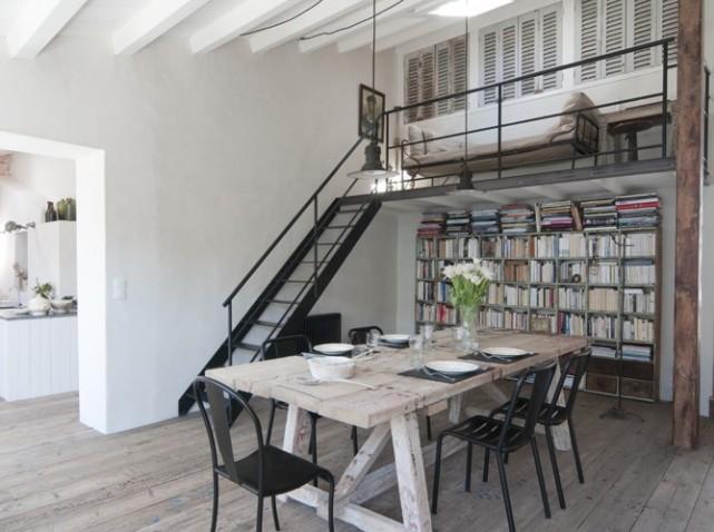 D co loft brocante for Maison moderne ile de re