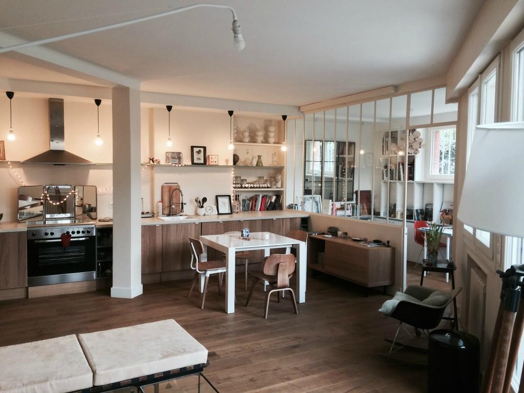 D co loft petit espace for Deco salon petit espace