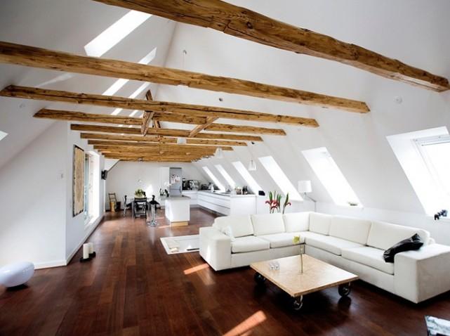 d co loft sous les toits. Black Bedroom Furniture Sets. Home Design Ideas