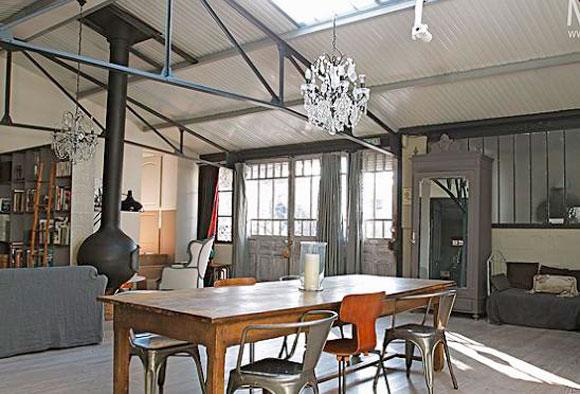 photo dco loft style industriel - Decoration Interieur Style Industriel