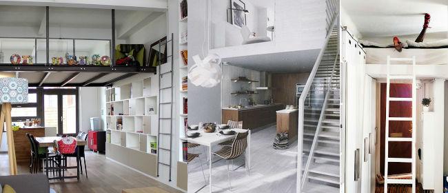 D co mini loft for Idee deco loft
