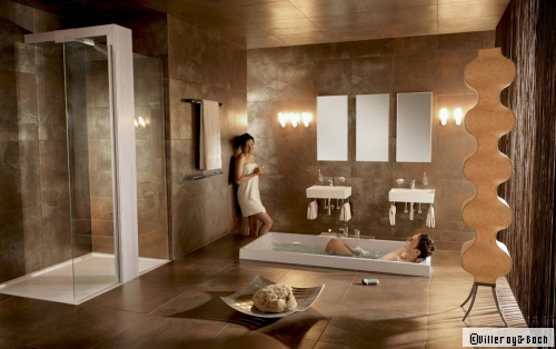 Stunning modele grande salle de bains avec spa pictures amazing