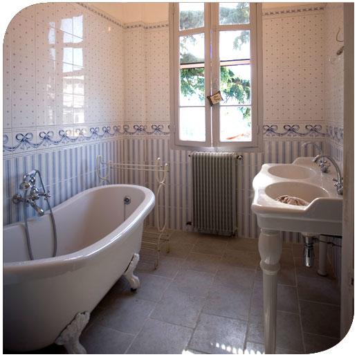 aménagement déco salle de bain ancienne