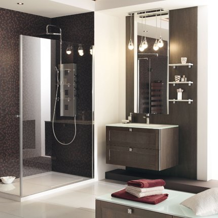 d co salle de bain avec douche italienne. Black Bedroom Furniture Sets. Home Design Ideas