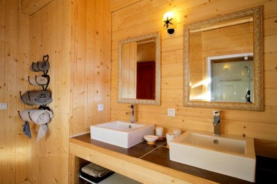 Decoration Salle De Bain Bois : Déco salle de bain bois