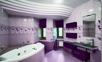 D co salle de bain couleur for Salle de bain quelle couleur