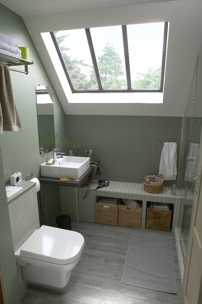 D co salle de bain fait main for Exemple de deco de salle de bain