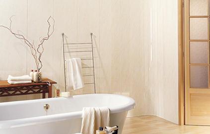 D co salle de bain lambris pvc for Mur pvc salle de bain
