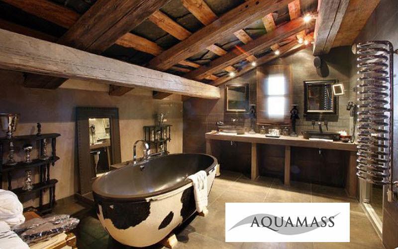 belle déco salle de bain montagne - Photo Déco