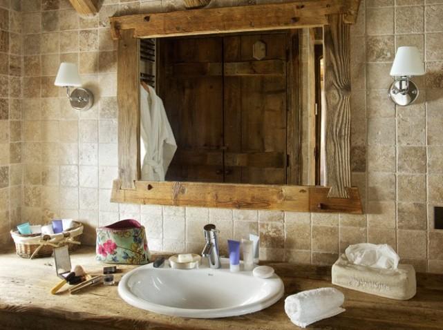 Déco salle de bain montagne