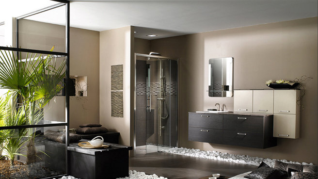d co salle de bain nature zen. Black Bedroom Furniture Sets. Home Design Ideas