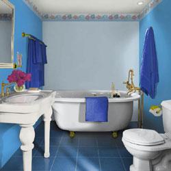 d co salle de bain style marin. Black Bedroom Furniture Sets. Home Design Ideas