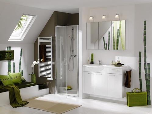 univers dco salle de bain vert bambou - Deco Salle De Bain Bambou