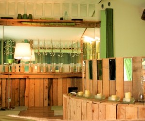 Les concepteurs artistiques deco salle de bain vert bambou for Deco salle de bain vert