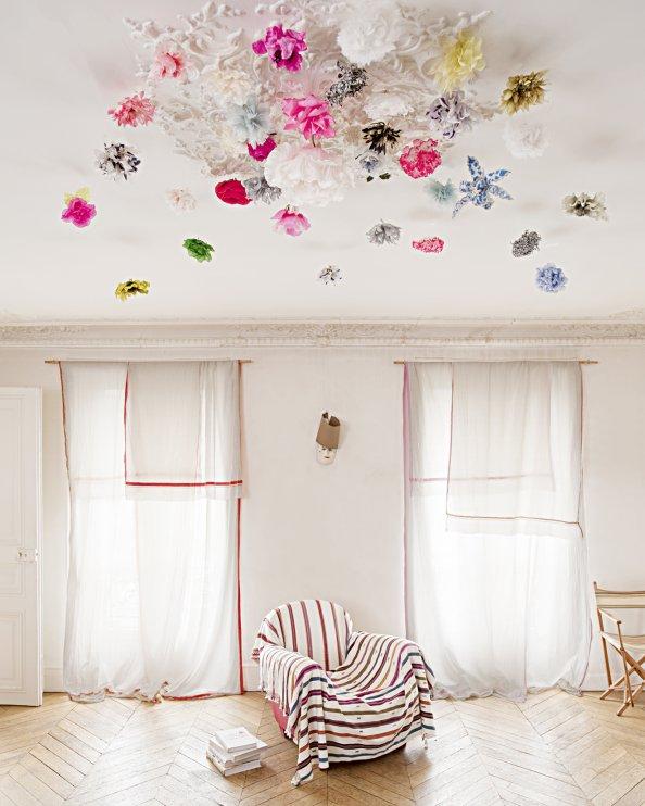 Univers Deco Salon Haut Plafond Photo Deco