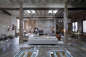 D co style usine loft for Usine deco jardin
