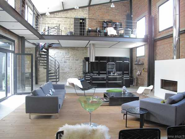 d co style usine loft. Black Bedroom Furniture Sets. Home Design Ideas