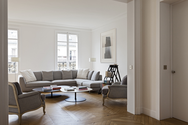 D coration appartement haussmannien contemporain - Decoration appartement haussmannien ...