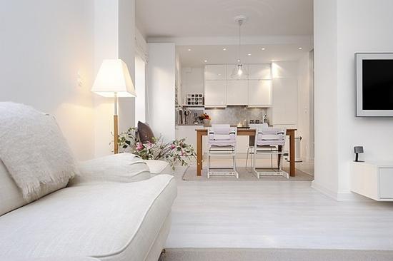 D coration appartement minimaliste for Exemple deco appartement