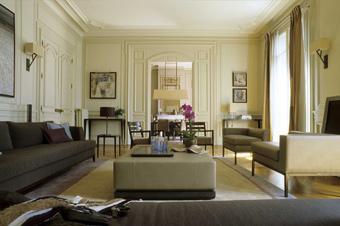 modèle décoration appartement parisien