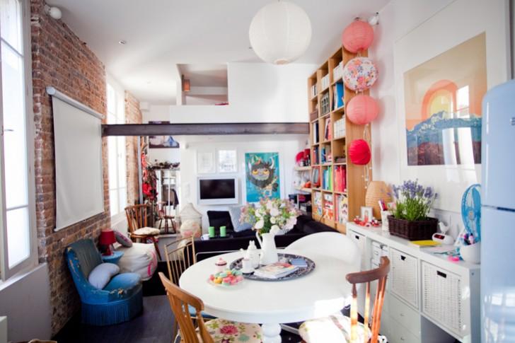 d coration appartement studio. Black Bedroom Furniture Sets. Home Design Ideas