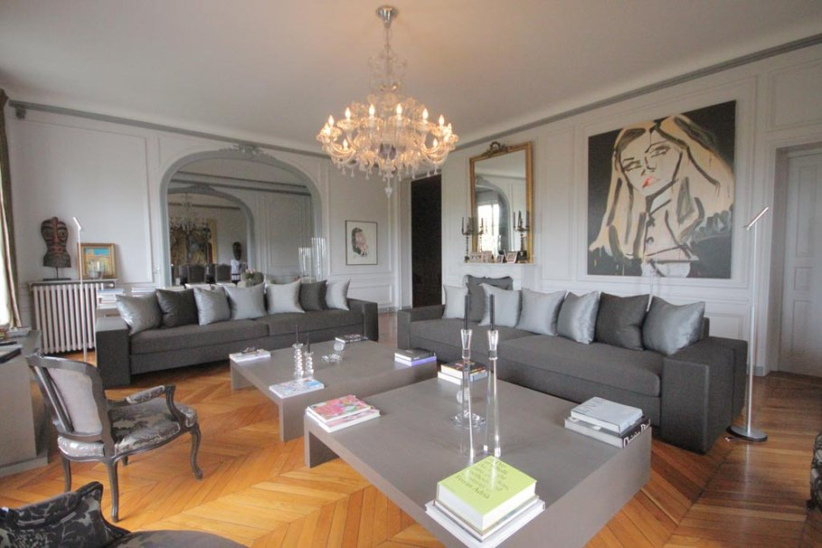 D coration appartement style haussmannien for Photo decoration