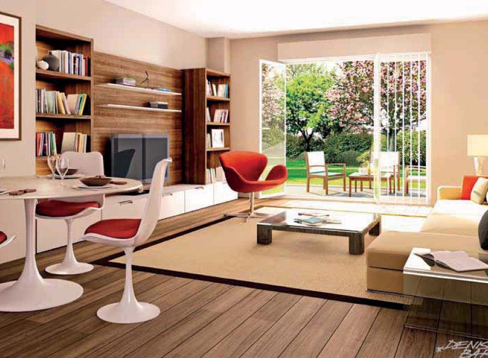 d coration appartement t2. Black Bedroom Furniture Sets. Home Design Ideas