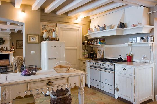 décoration cuisine ancienne