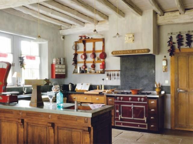 Awesome Modele Cuisine Ancienne Images - Amazing House Design ...