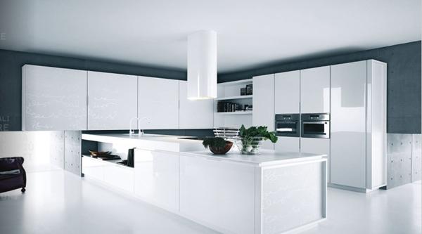decoration cuisine armoire blanche
