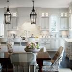 décoration cuisine armoire blanche