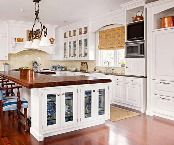 D coration cuisine armoire blanche for Decoration armoire de cuisine