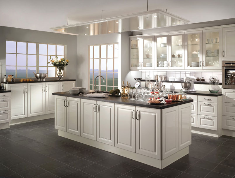 D coration cuisine classique for Decoration de cuisine champetre